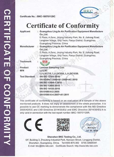 采样车CE认证