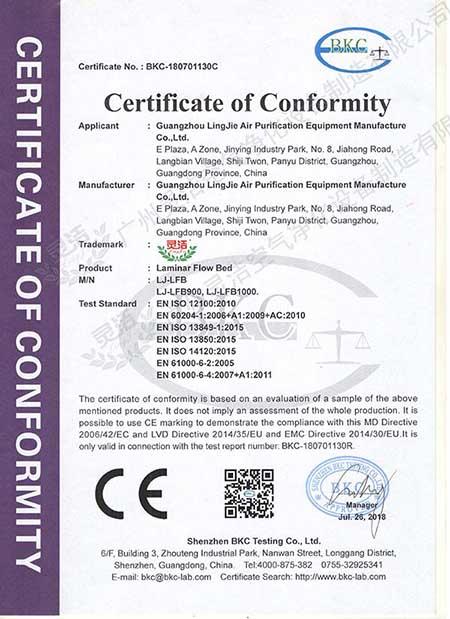 层流病床CE认证
