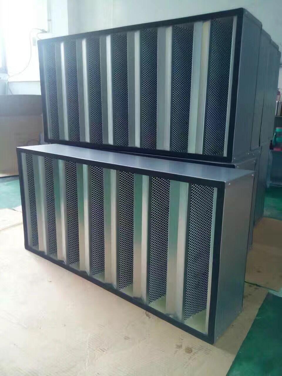组合式式活性炭过滤器|颗粒活性炭过滤器