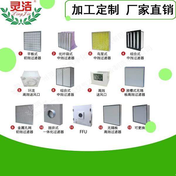 医院ICU高效过滤器|医院空调过滤器